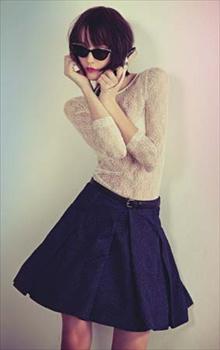 blusa de renda moda Blusas de Renda Moda 2012: Lindos Modelos, Dicas de Como Usar e Fotos