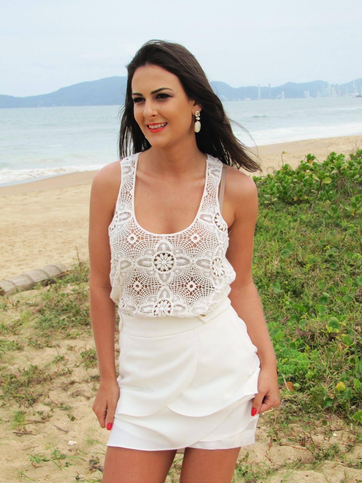 blusa de renda Blusas de Renda Moda 2012: Lindos Modelos, Dicas de Como Usar e Fotos