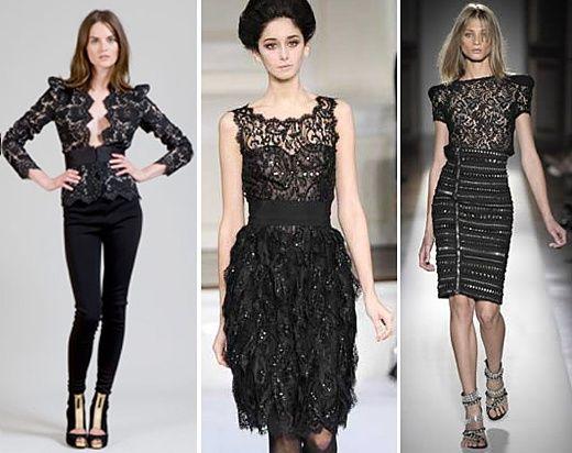 blusas de renda Blusas de Renda Moda 2012: Lindos Modelos, Dicas de Como Usar e Fotos