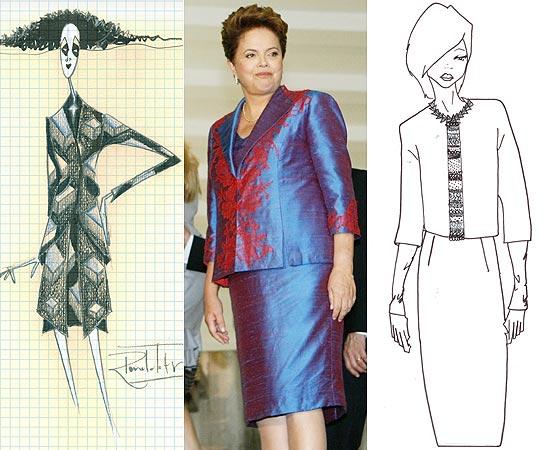 Dilma Rousseff Roupas: Terninhos, Vestidos e Conjuntos da Presidenta