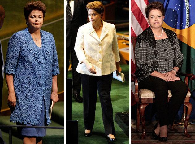dilma Dilma Rousseff Roupas: Terninhos, Vestidos e Conjuntos da Presidenta