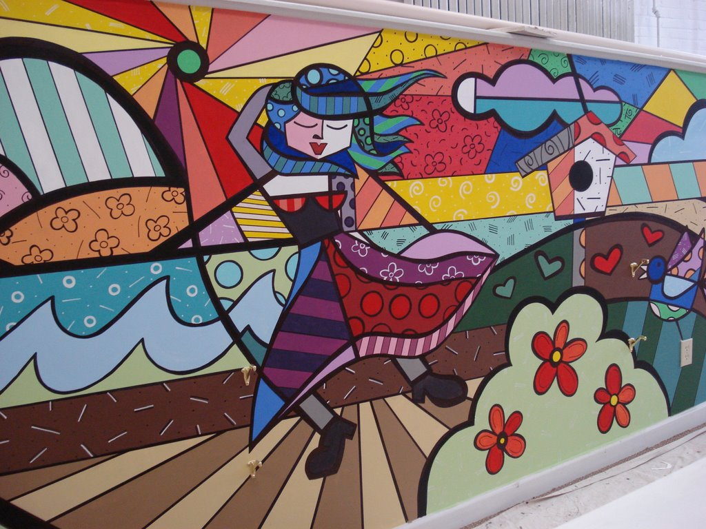 grafite em muro Tipos de Pinturas para Muros de Casas: Modelos de Paisagens e Grafites