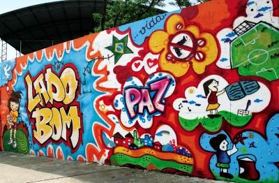 grafite muro pintura Tipos de Pinturas para Muros de Casas: Modelos de Paisagens e Grafites