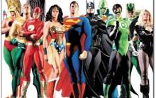 """Desenhos para Colorir da """"Liga da Justiça"""": Personagens para Pintar"""