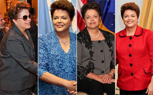 moda dilma Dilma Rousseff Roupas: Terninhos, Vestidos e Conjuntos da Presidenta
