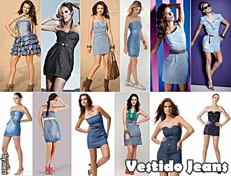 Vestidos Jeans Moda Verão 2012: Lindos Modelos, Tendências e Dicas