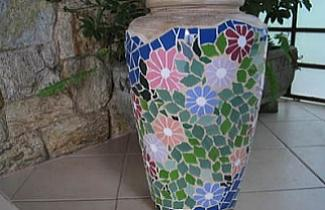 Vaso mosaico