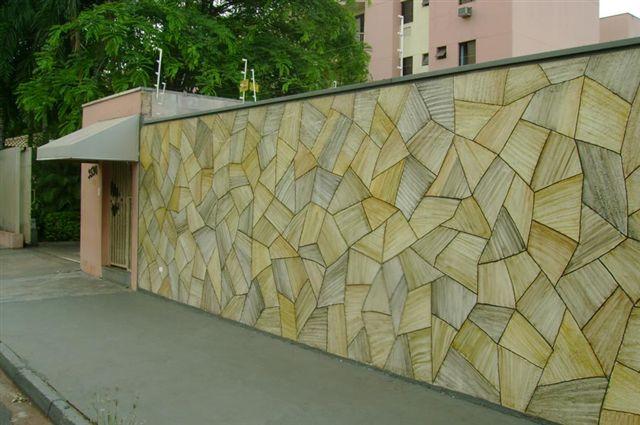 muro com pintura de pedras Tipos de Pinturas para Muros de Casas: Modelos de Paisagens e Grafites