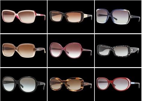 8ef0fbbb9 Óculos de Sol da Vogue, Coleção 2012: Lindos Modelos da Marca, Comprar