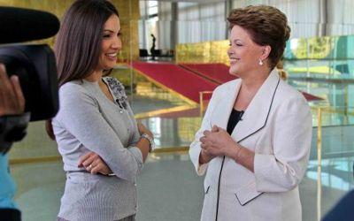 patricia poeta e dilma rousseff Dilma Rousseff Roupas: Terninhos, Vestidos e Conjuntos da Presidenta