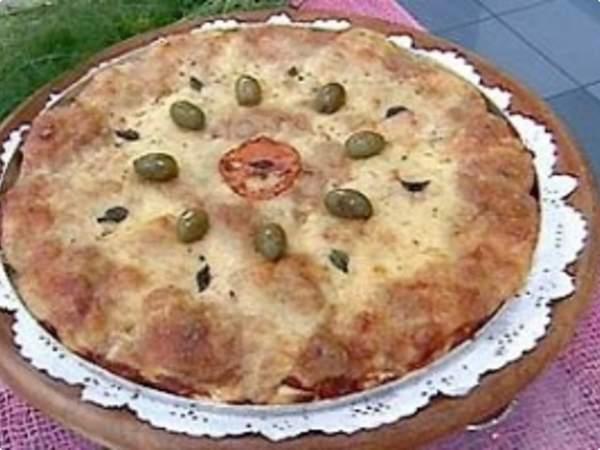 pizza de pao Receita de Pizza de Pão da Ana Maria Braga Mais Você  Reaproveitamento