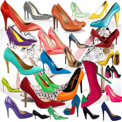 scarpins Scarpins Moda 2012: Modelos Coloridos, Estampados, Verniz e Brilhantes