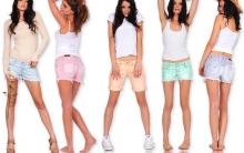 Shorts Moda Verão 2012: Modelos Jeans, Estampados, Brilhantes e Fotos
