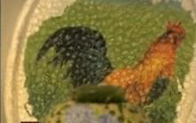 Artesanato com Casca de Ovo de Andrea Gomes no Mais Você – 27/10/2011