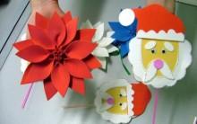 Enfeites de Natal de Material Reutilizado Video Passo a passo