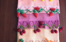 Gráficos de Bicos de Crochê para GuardanaposToalhas de Banho e de Mesa