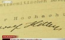 Carta de Hitler é Vista em Museo nos Estados Unidos – Confira Fotos