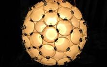 Como Fazer Luminária de Copos Descartáveis: Video Passo a passo, Fotos