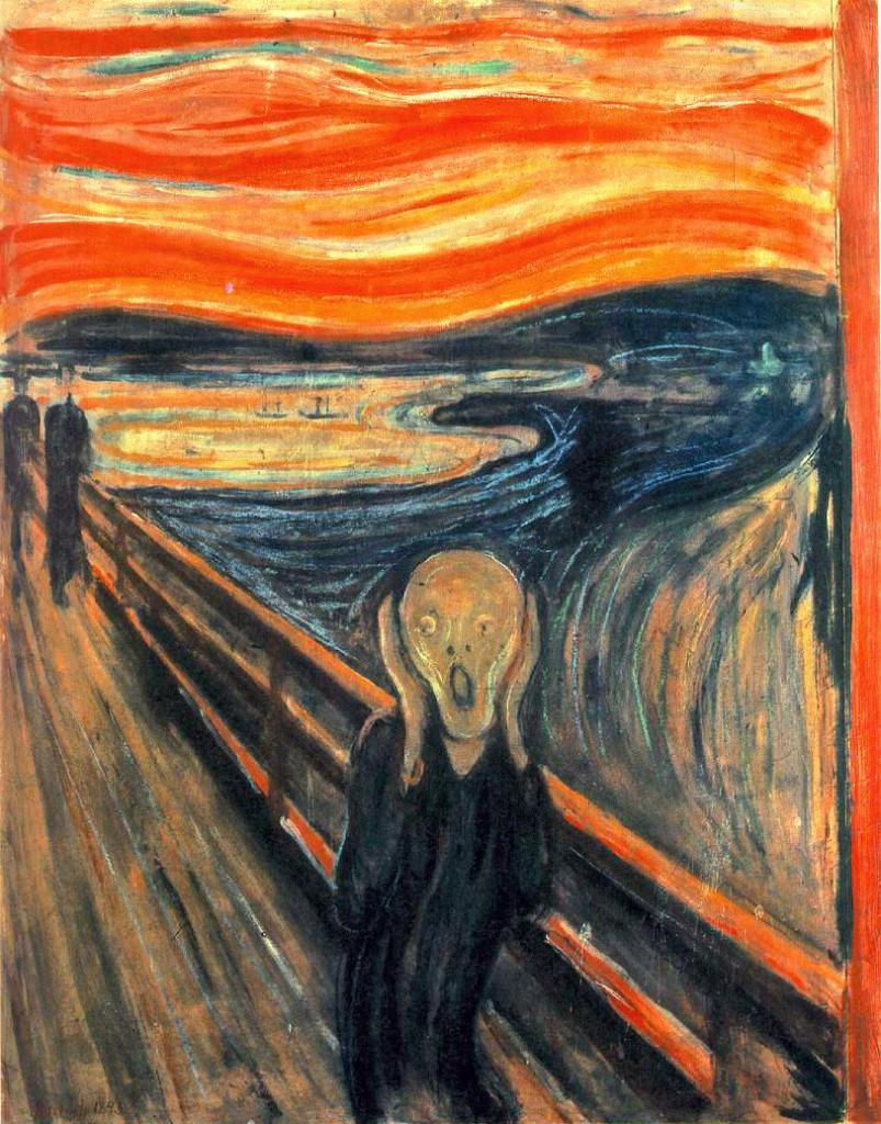 o grito 2 803x1024 Curiosidades sobre Expressionismo: Fatos Interessantes, Obras Artistas