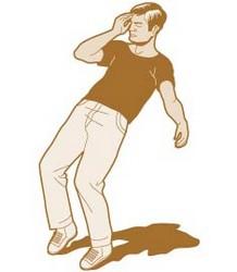 pessoa desmaiando Tudo sobre Desmaios: Síncope, Causas, Dicas, Riscos e Procedimentos