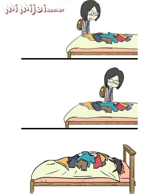 pessoa muito cansada Frases e Imagens Engraçadas sobre o Preguiça: Pessoa Cansada, Cansaço