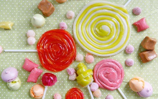 pirulito de caramelo Receita de Pirulito de Caramelo para o Dia das Crianças: Passo a passo