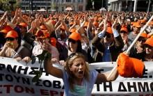 Greve Geral na Grécia: Paralizações e Protestos 19/10/11, Veja Fotos