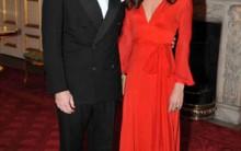 Vestido Vermelho Longo de Gala da Duquesa de Cambridge-Confira Detalhes