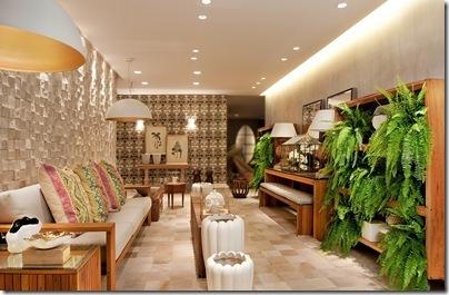 Samambaias decoracao Decoração de Interiores  Casa com Flores Naturais é Moderno e Elegante