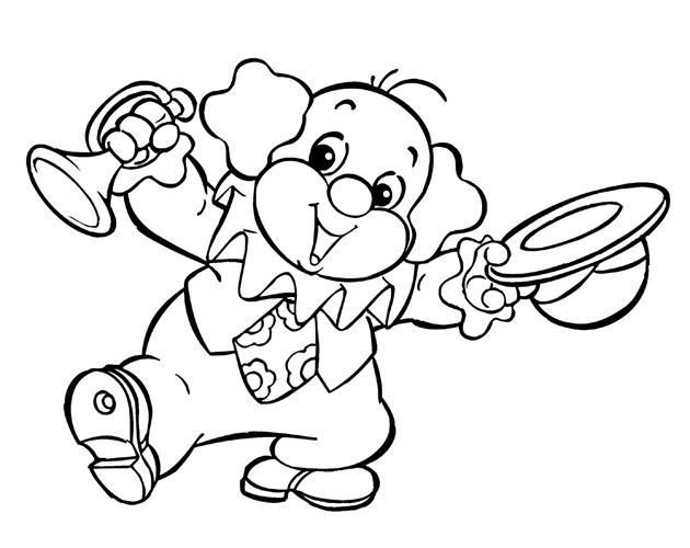 dia do circo desenhos colorir Desenhos de Palhaços para Colorir: Imagens para Imprimir e Pintar