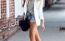 Moda Blazer Branco Verão 2012: Como Usar, Modelos e Combinações Legais