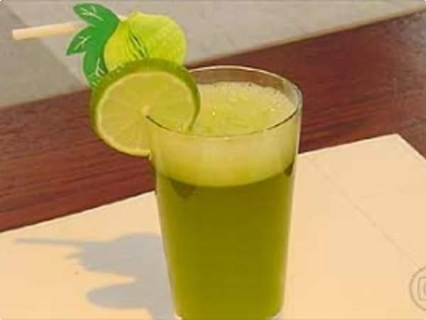 suco energetico ana Receita de Sucos Energéticos da Ana Maria Braga    Mais Você