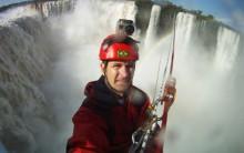 Alpinista faz Tirolesa sobre as Cataratas do Iguaçu, Vote Cataratas