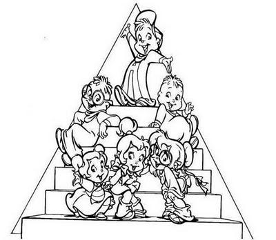 Alvin E Os Esquilos 3 Desenhos Para Colorir Imagens Imprima E Pinte