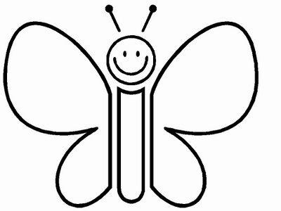 borboleta imagem colorir Desenhos de Animais Fofos para Colorir: Imagens para Imprimir e Pintar