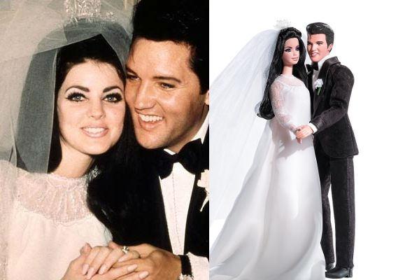 casal presley barbie Barbie de Famosos: Bonecas de Atrizes, Cantoras e Celebridades, Fotos