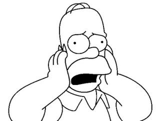 homer simspons pintar Os Simpsons Desenhos para Colorir: Imagens Online, Imprimir e Pintar