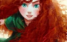 """Filme """"Valente"""" da Disney: Desenhos da Merida Kawai em Anime e Mangá"""