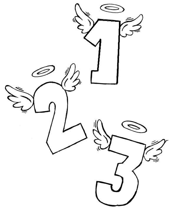 numeros Desenho para Colorir Números de 0 a 9: Lindos para Imprimir e Pintar