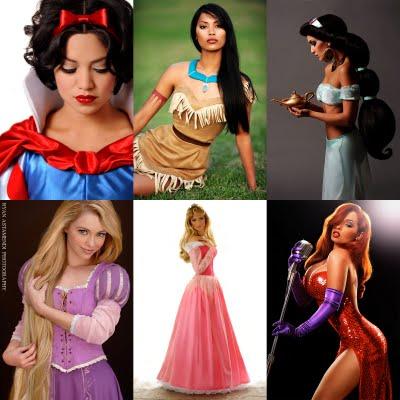 1x1.trans Princesas da Disney na Vida Real: Fotos da Bela, Pocahontas, Ariel etc