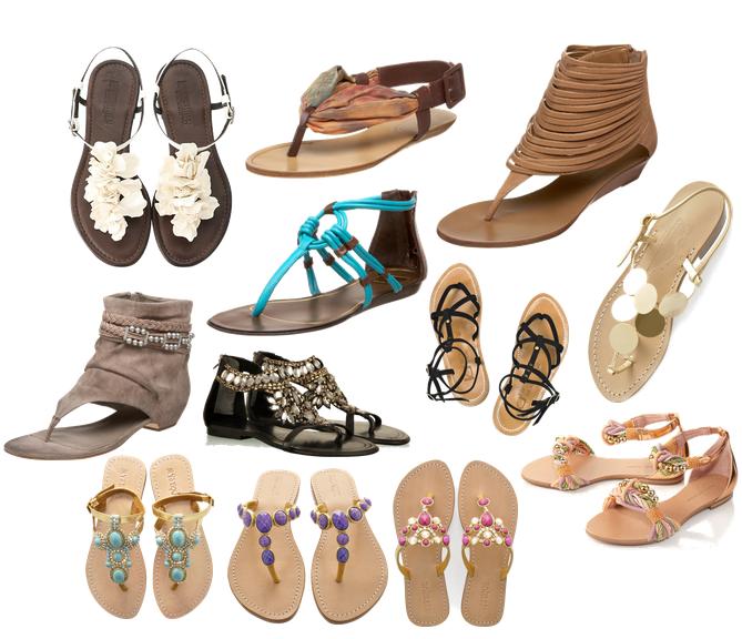 rasteira 2012 Sapatos Verão 2012: Rasteirinhas, Sapatilhas, Sandálias, Fotos e Dicas