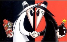 """Spy vs Spy: Melhores Histórias Engraçadas dos Espiões da Revista """"Mad"""""""