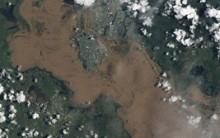Imagens de Satélite da NASA mostram Enchentes, Queimadas, Tsunamis etc