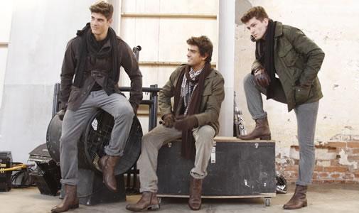 moda masculina militar inverno 2012 Moda Masculina Outono/Inverno 2012: Modelos, Roupas, Acessórios, Fotos