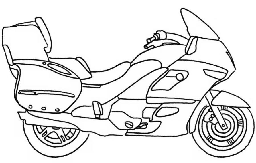moto para pintar Desenhos de Motos Tunadas para Pintar: Imagens Online, Pintar Grátis
