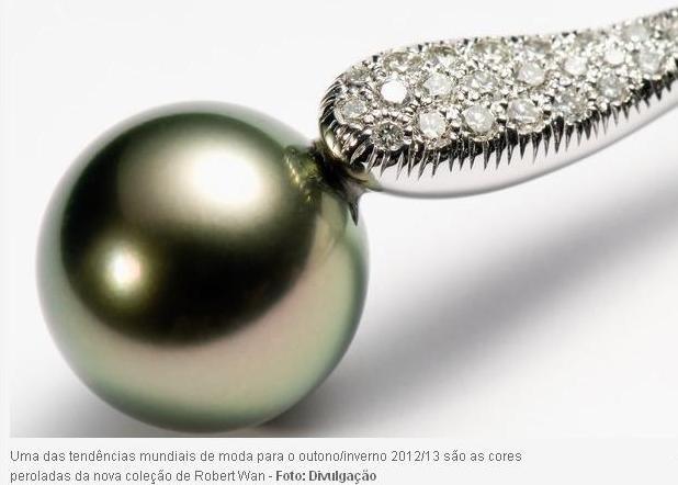 perola rovert wan Moda Pérolas 2012/2013: Colares, Anéis, Pulseiras e Brincos, Comprar