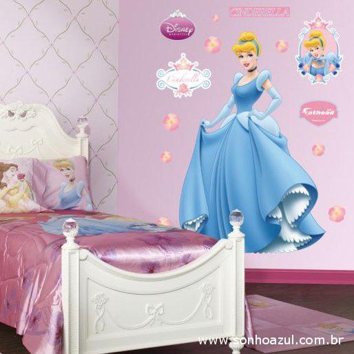 quartos de princesas decorados : Confira abaixo alguns site de adesivos para parede. Antes de fazer sua ...