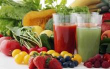 Receita de Salada, Suco, Espetinho de Frutas Pratos Vegetarianos- Ana Maria Braga