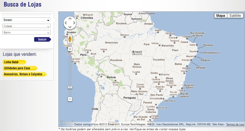 site Lojas Pernambucanas Endereços: Telefone, Horário Funcionamento e Site