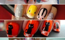 Nail Art de Animais: Fotos de Unhas com Desenhos de Vaca, Onça, Girafa